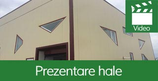 Prezentare TV hale structura metalica